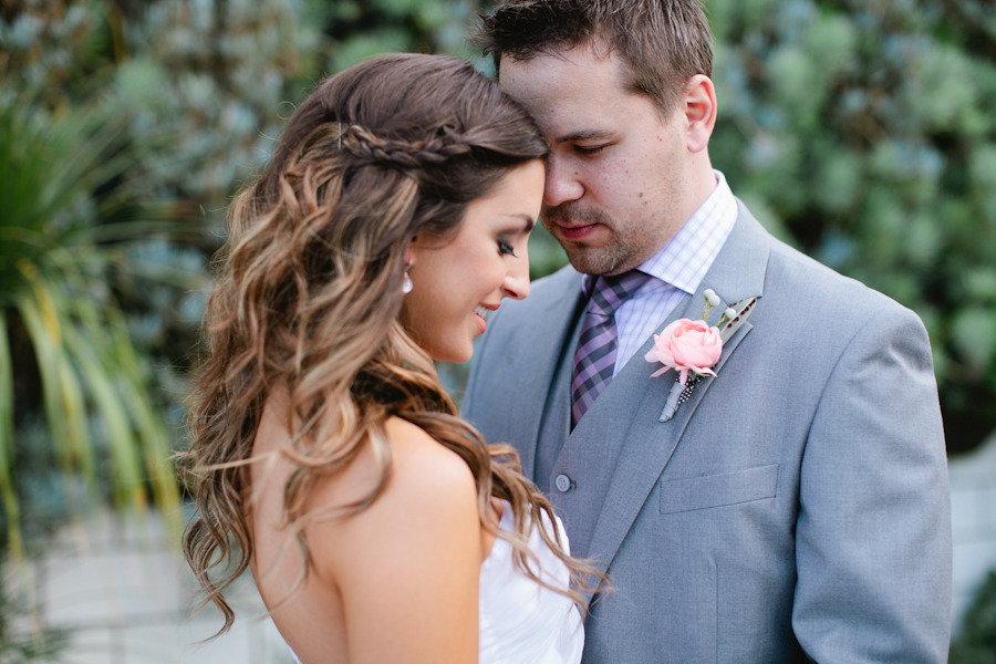 Romantic Wedding Hairstyle Enchanted Garden Wedding Onewed Com