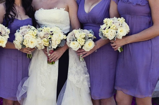 amykaneko joymarie ceremony bridesmaids detail shot