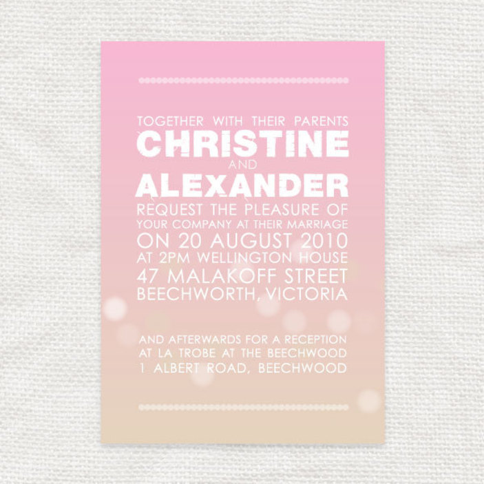 Beautiful chic wedding invitation sets in grey and white, with ...
