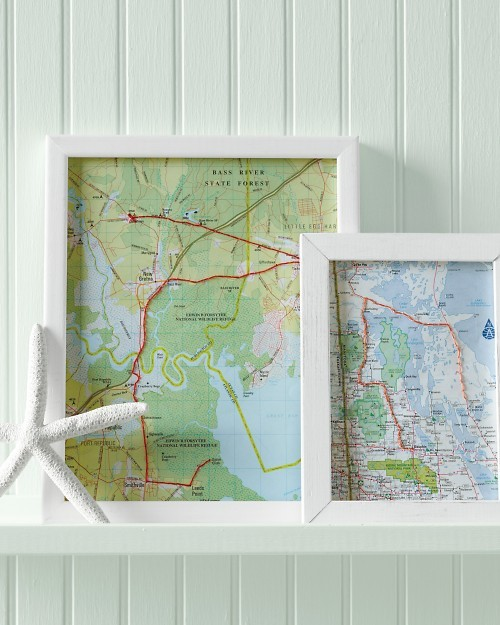 custom map artwork for wedding reception or wedding gift