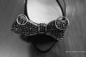 photo of black rhinestone wedding shoes copy
