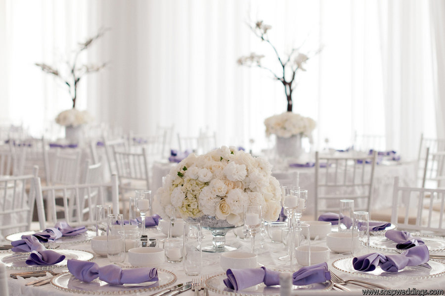 Lilac Table Decorations Wedding Tables » Home Decoration