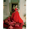 Dramatic-wedding-inspiration-kate-moss-in-crimson-red-wedding-dress-dior-haute-couture.square