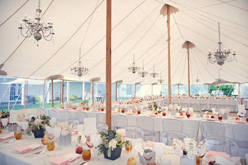 Elegant-real-wedding-outdoor-reception-under-tent-peach-theme.full