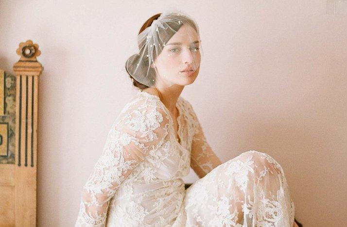 Elegant-bridal-veil-blusher-pearl-details.full