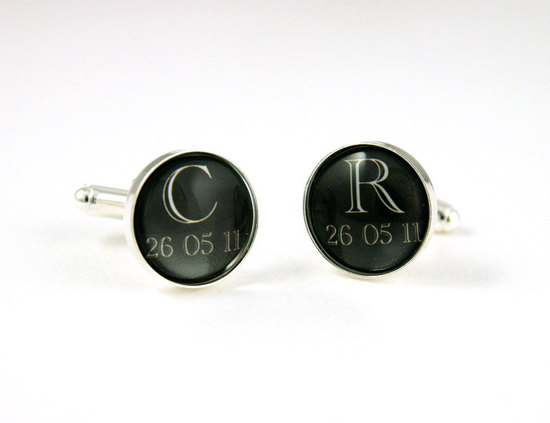 custom cufflinks for grooms