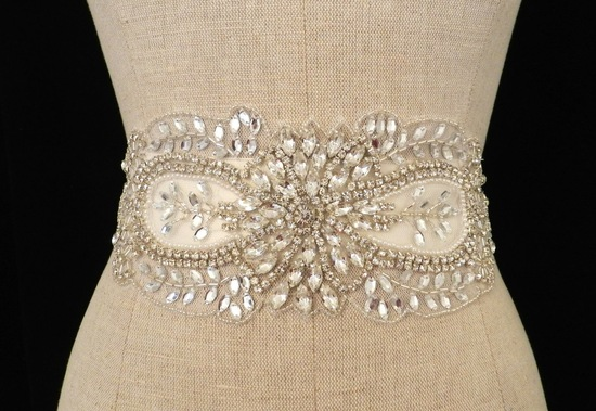 statement bridal belt