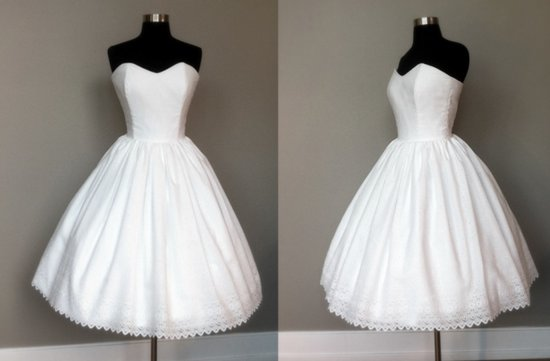 wedding reception dress tea length vintage bridal gowns