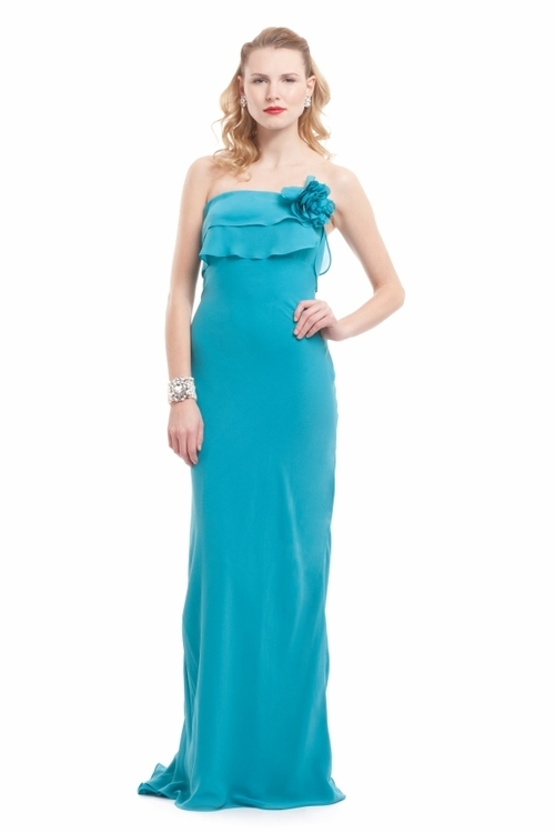 lavender bridesmaid dress by badgley mischka 2012 taupe satin