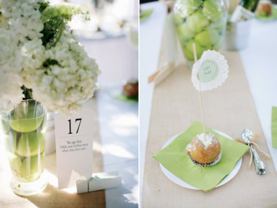 photo of Sweet and Unique Wedding Centerpiece Idea