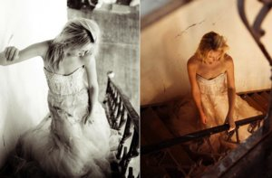 photo of Ethereal Beauty + Vintage Romance by Monique Lhuillier