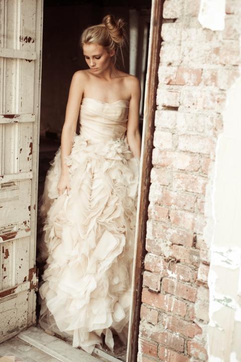 photo of romantic wedding dresses monique lhuillier 2012 3