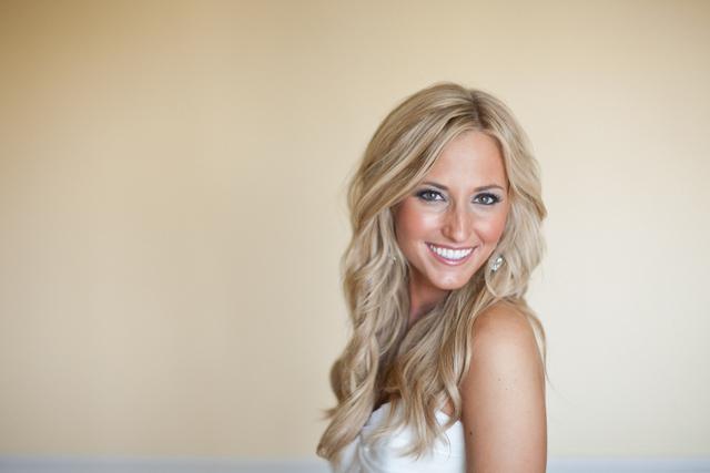 All Down Wedding Hair Casual Beach Bride