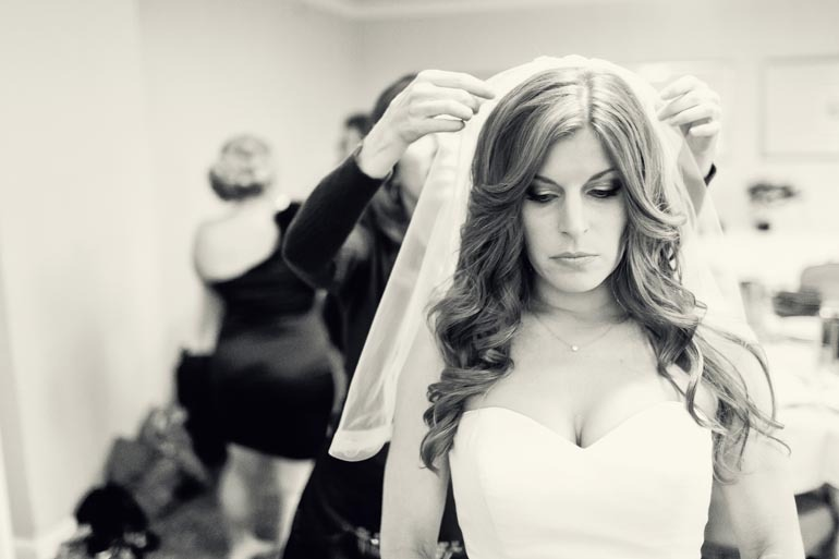 Wedding Hairstyle All Down : All down wedding hair wavy sweetheart dress