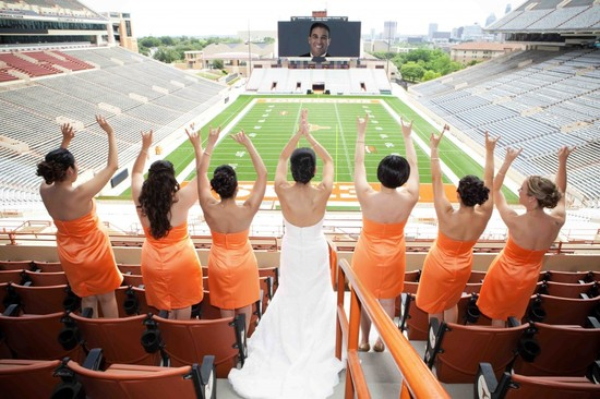 photo of Incorporating March Madness into Your Wedding