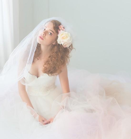 photo of Romantic tulle wedding dress