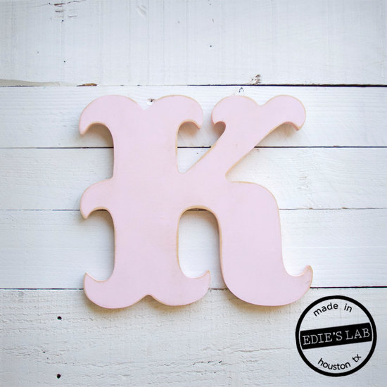 wedding ceremony reception decor bride groom initials custom signs light pink