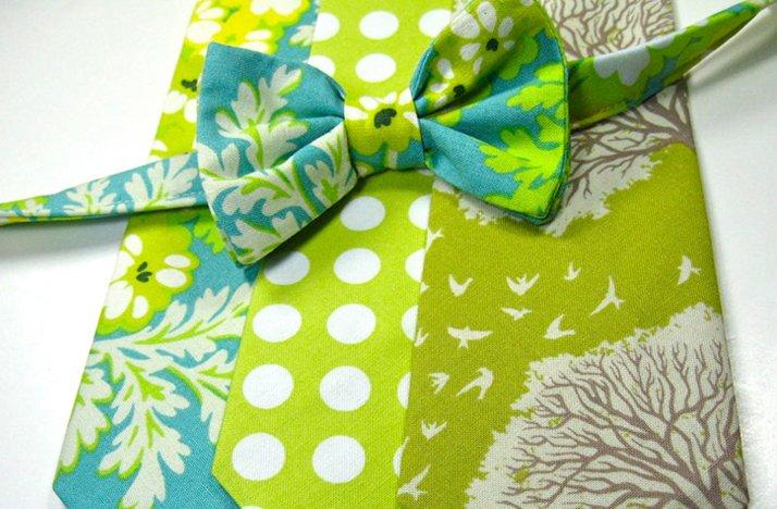 Funky-green-ties-for-groom-groomsmen.full