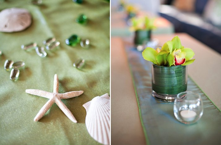 Beach-wedding-green-color-palette-reception-centerpieces.full