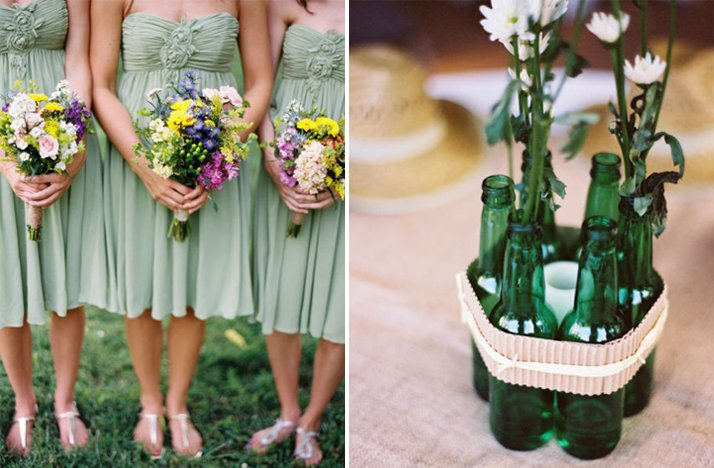 Green-bridesmaids-dresses-diy-wedding-reception-centerpieces.full