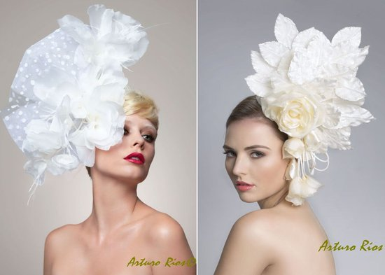 haute couture wedding fascinators bridal hair accessories