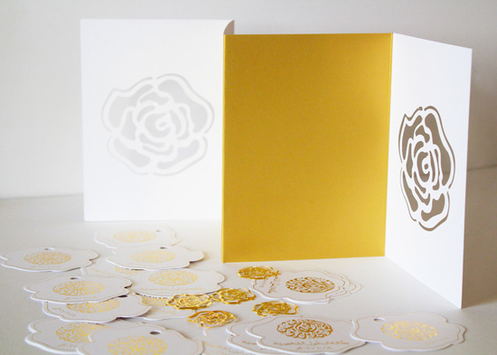 arabic weddings white gold letterpress wedding invitations 2