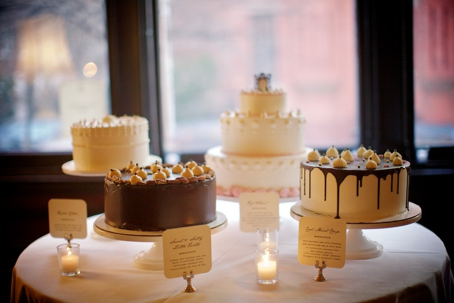 Unique Wedding Cakes Dessert Table