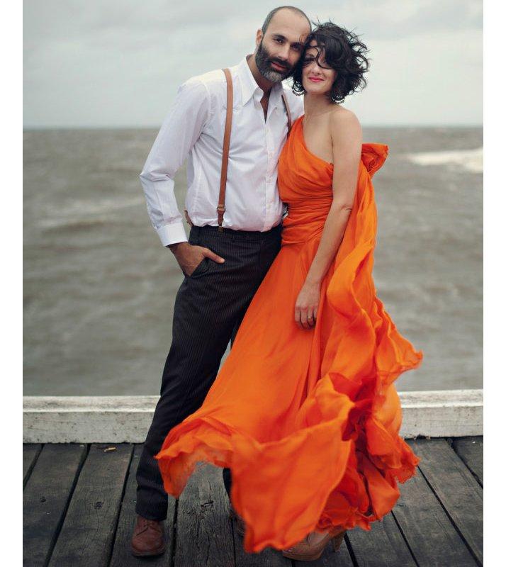 Orange-one-shoulder-wedding-dress-2012-wedding-bridal-trends.full