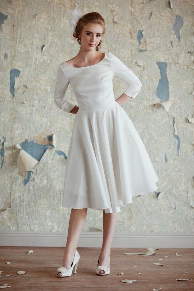 Ruche-wedding-accessories-collection-premier-2012-tea-length-wedding-dress.full
