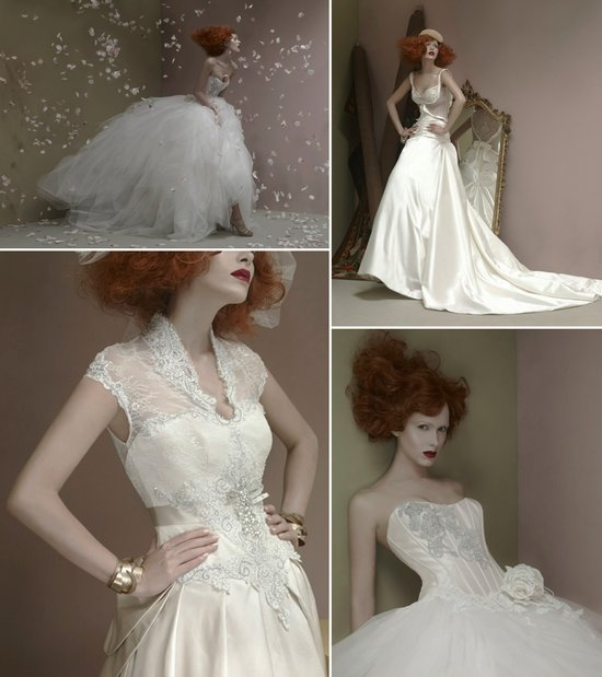 2012 wedding dresses st pucchi couture ballgowns slinky sheath