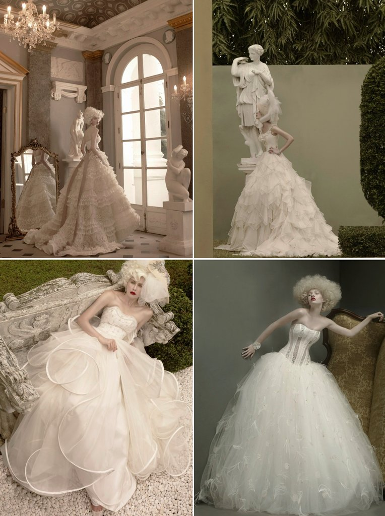 photo of Decadent 2012 Wedding Dresses by St. Pucchi