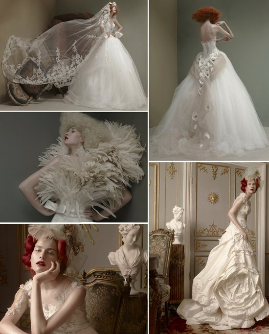 st pucchi couture wedding dresses 2012 bridal gown