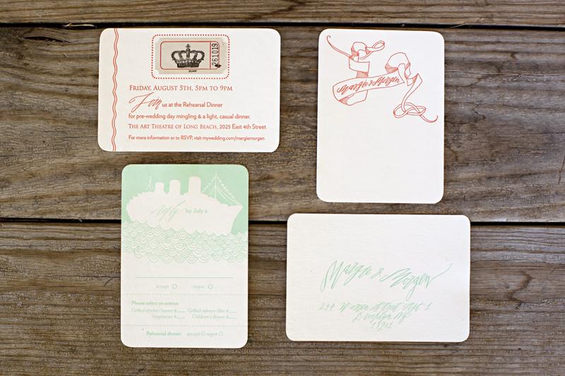 Art-deco-wedding-invitations-vintage-inspired-wedding-stationery-coral-aqua-white-2.full