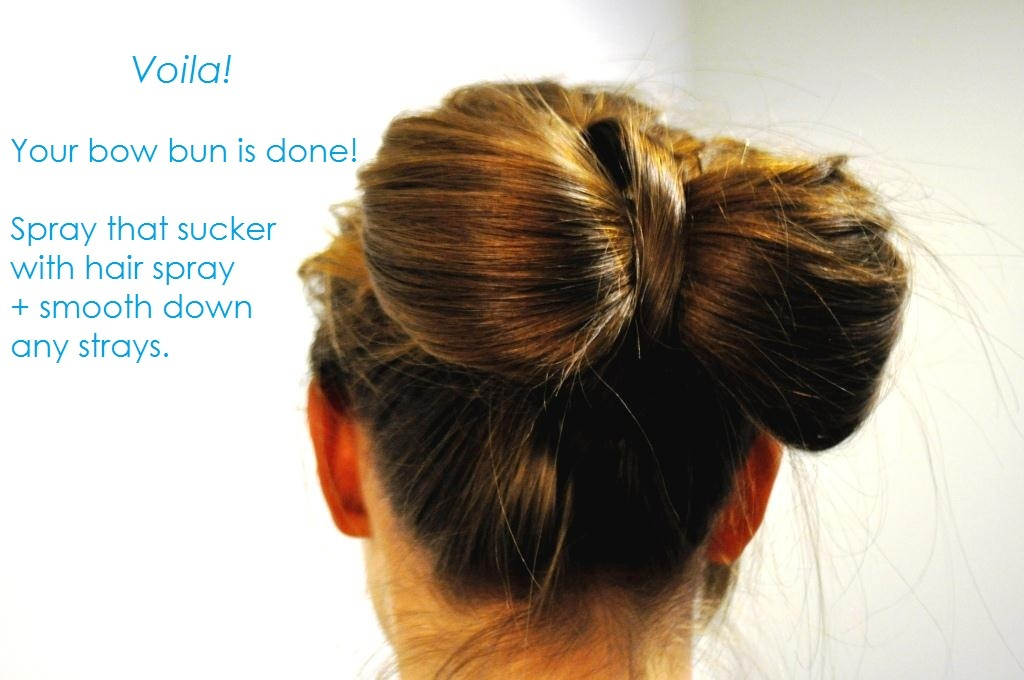 Diy Wedding Hair Ideas Bridal Updo Bow Bun 14