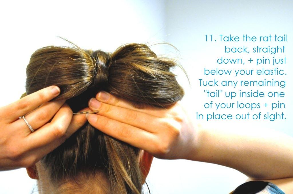 Diy-wedding-hair-ideas-bridal-updo-bow-bun-13.full