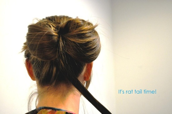 photo of DIY Wedding Hairstyle: Bow Bun Updo