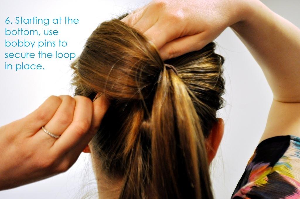 Diy Wedding Hair Ideas Bridal Updo Bow Bun 7