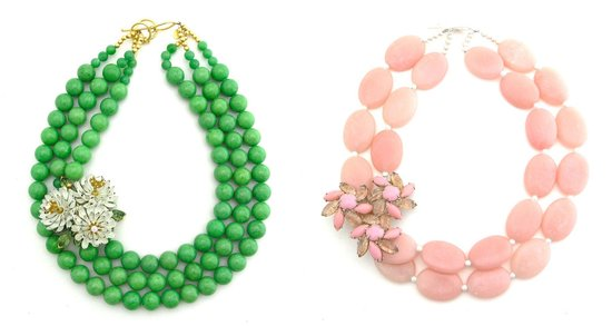 bright statement wedding jewelry elva fields