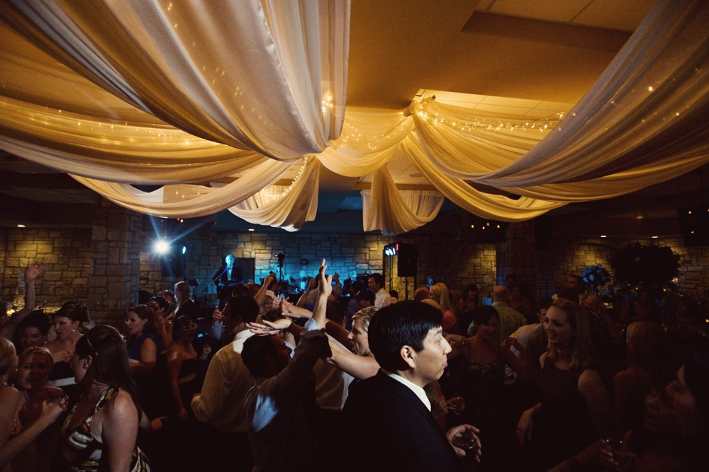 Wedding Reception Ceiling Draping