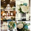 Ivory-hydrangea-wedding-reception-centerpieces-elegant-ivory-wedding-cake.square