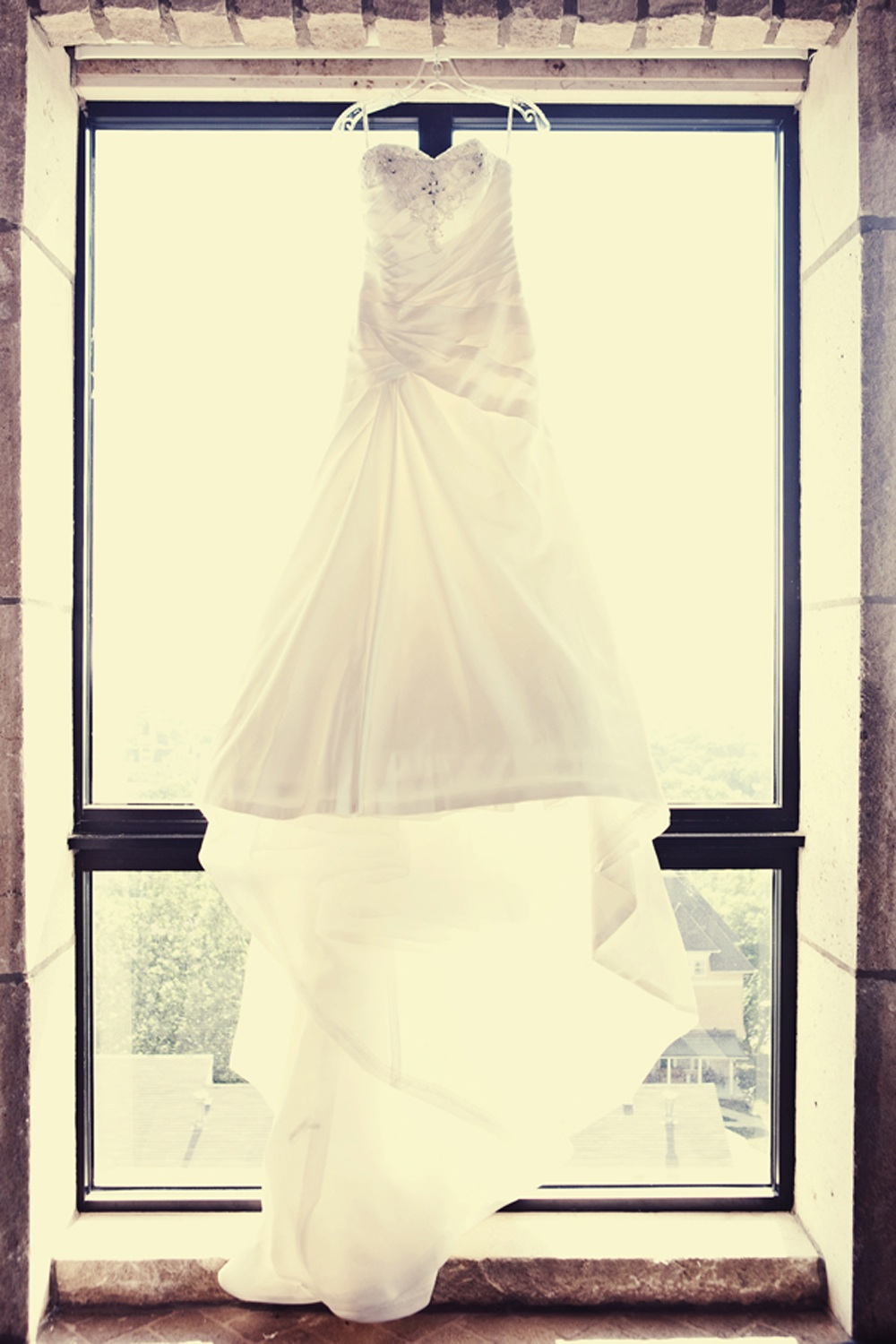 Vintage-style-wedding-photo-brides-white-wedding-dress-a-line-crystal-embellished.original
