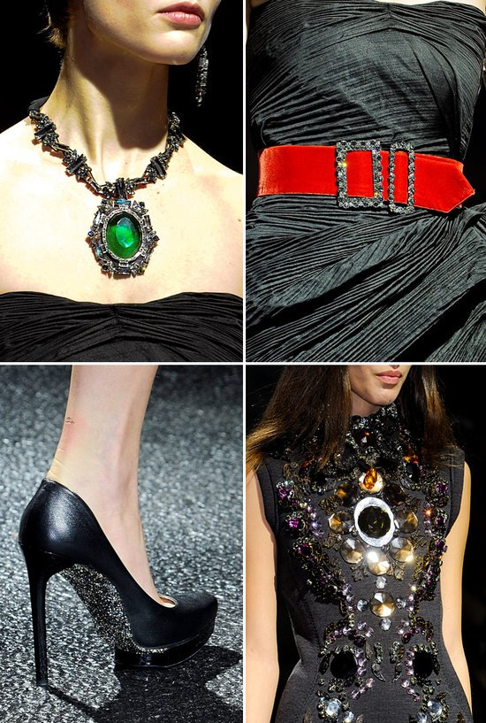 2012 wedding accessories inspiration lanvin