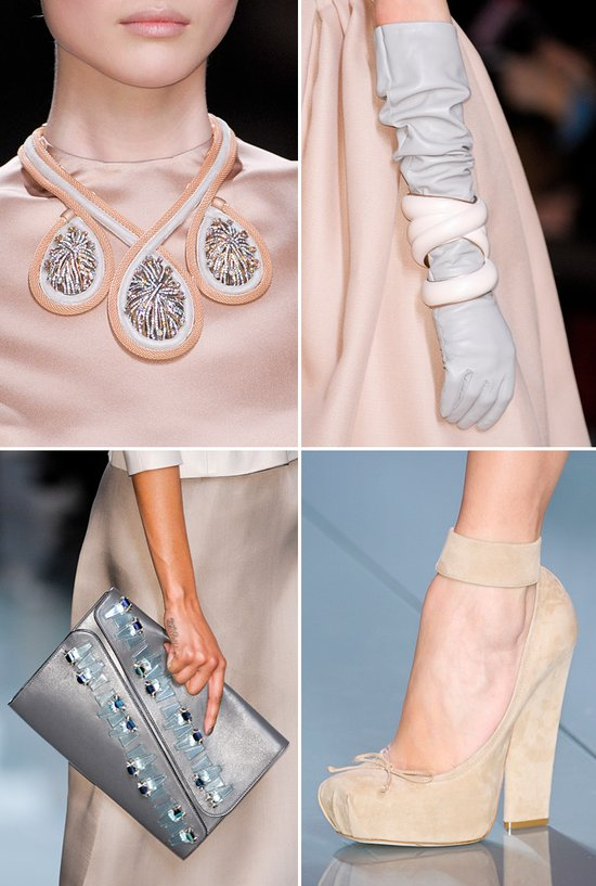 bridal accessories inspiration from fashion week paris