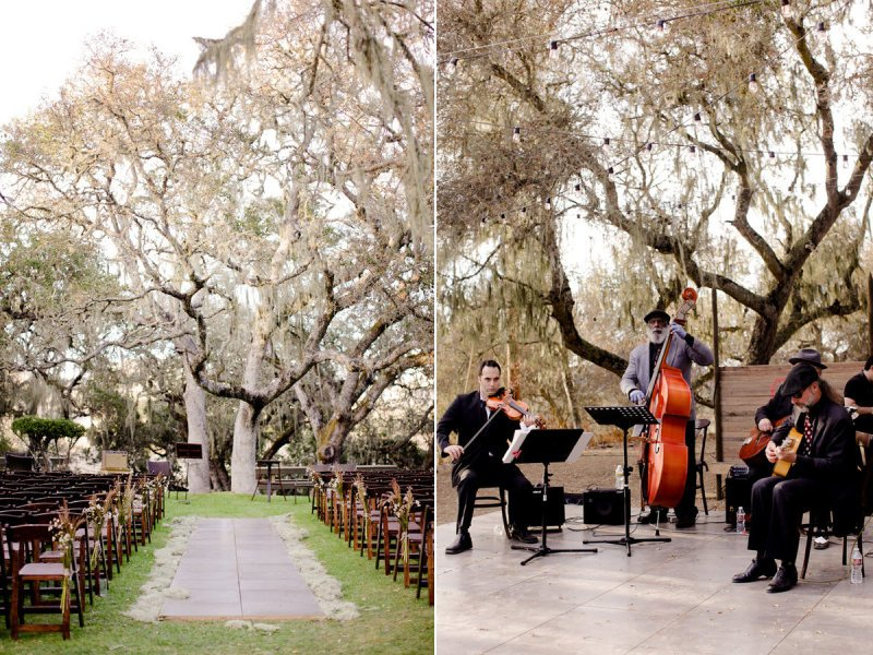 Urban-outdoor-wedding-ceremony-under-birch-tree.full