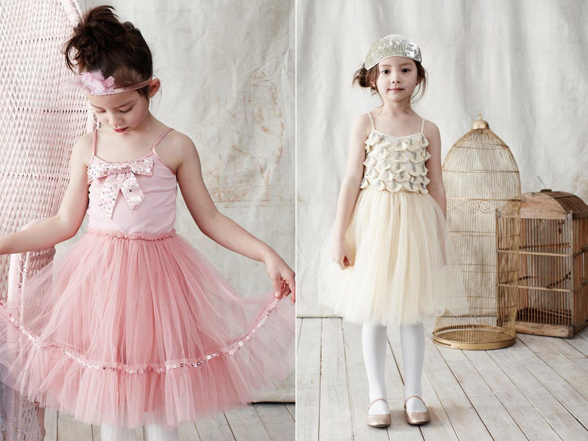 Tulle flower girl dresses romantic wedding style for Girls dresses for a wedding