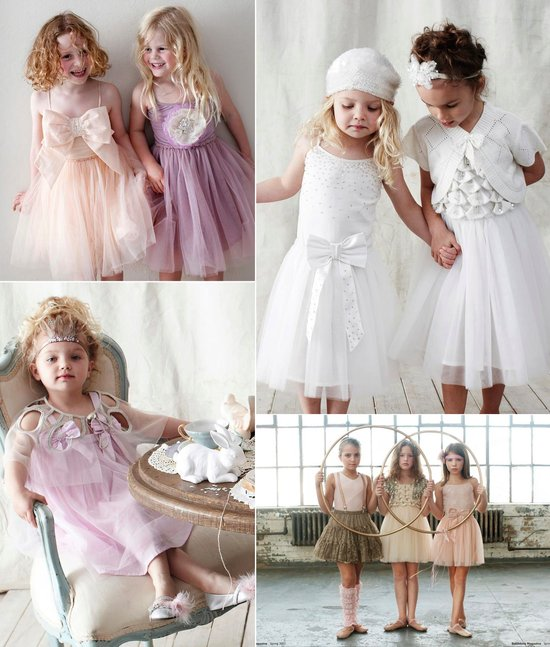 tulle flower girl dresses romantic wedding style
