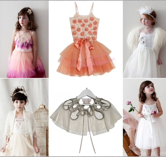 photo of cute flower girl dresses 2012 pink