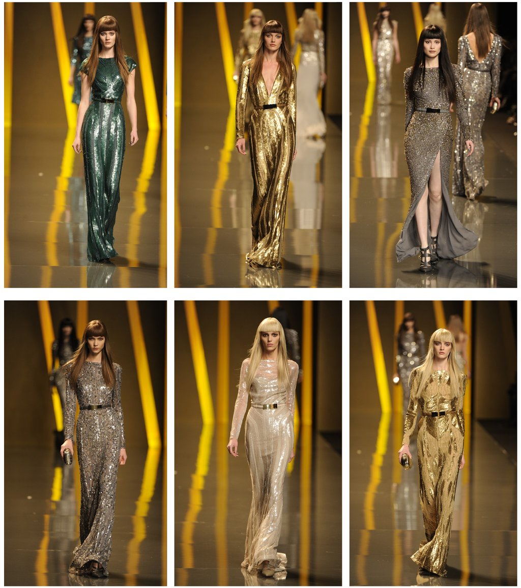 Sparkly 2012 wedding inspiration from Elie Saab
