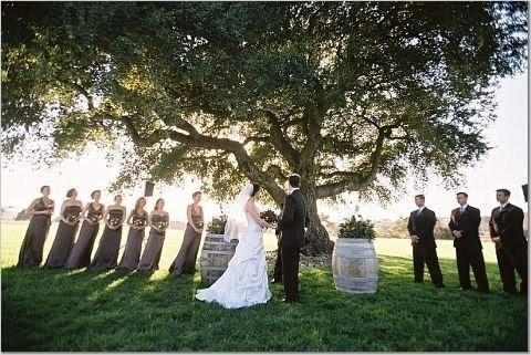 photo of wedding under tree from jose villa