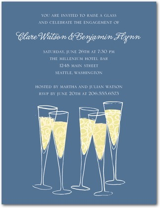 Champagne_cheers_signature_white_engagement_party_invitation.full